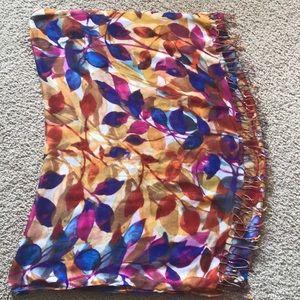 Coldwater Creek fringe scarf